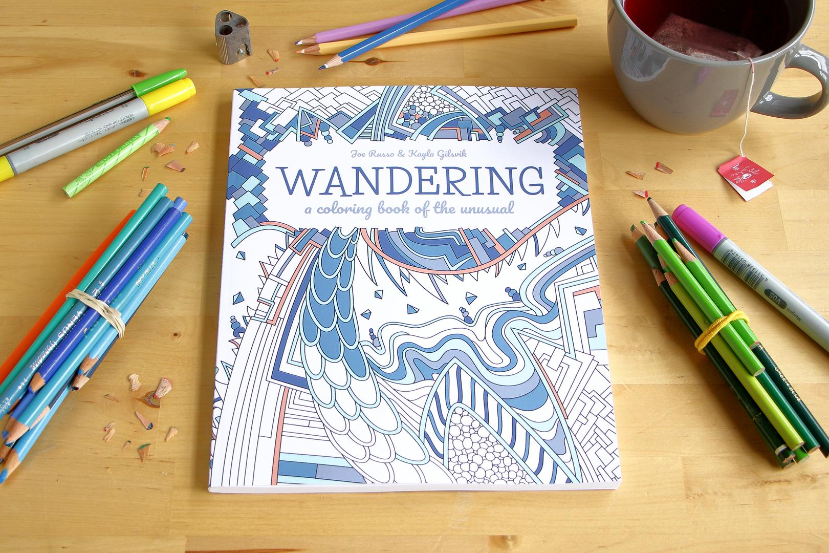 Wandering Coloring Book